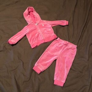 Ralph Lauren Velour Track Suit